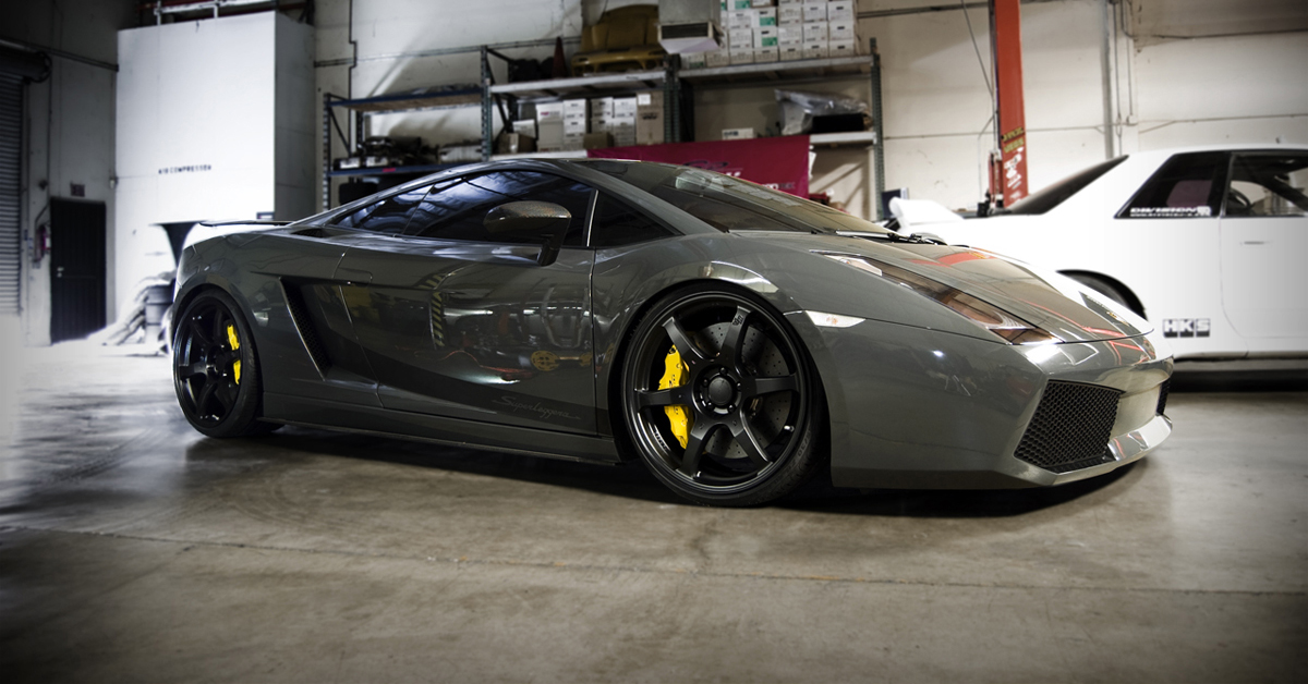 Lamborghini Gallardo Grey Paint Code